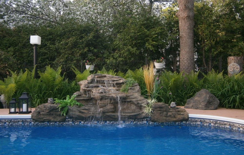 The Spirit falls / cascade for swimming pool and pond